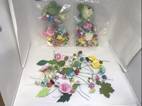Paper Flower Assortment