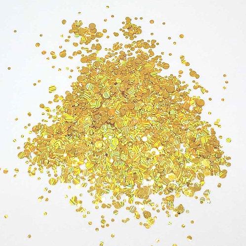 Firework Dots, Yellow Gold (0.5oz)