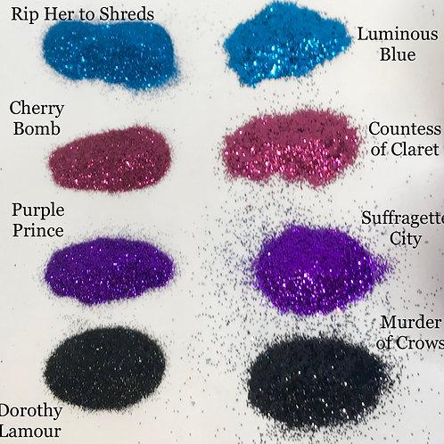 Size Comparison Glitter Set (8 x 1 oz)