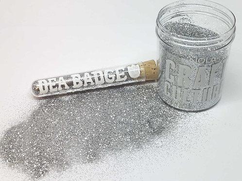 2 oz DEA Badge Silver