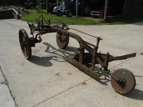 John Deere early brush plow