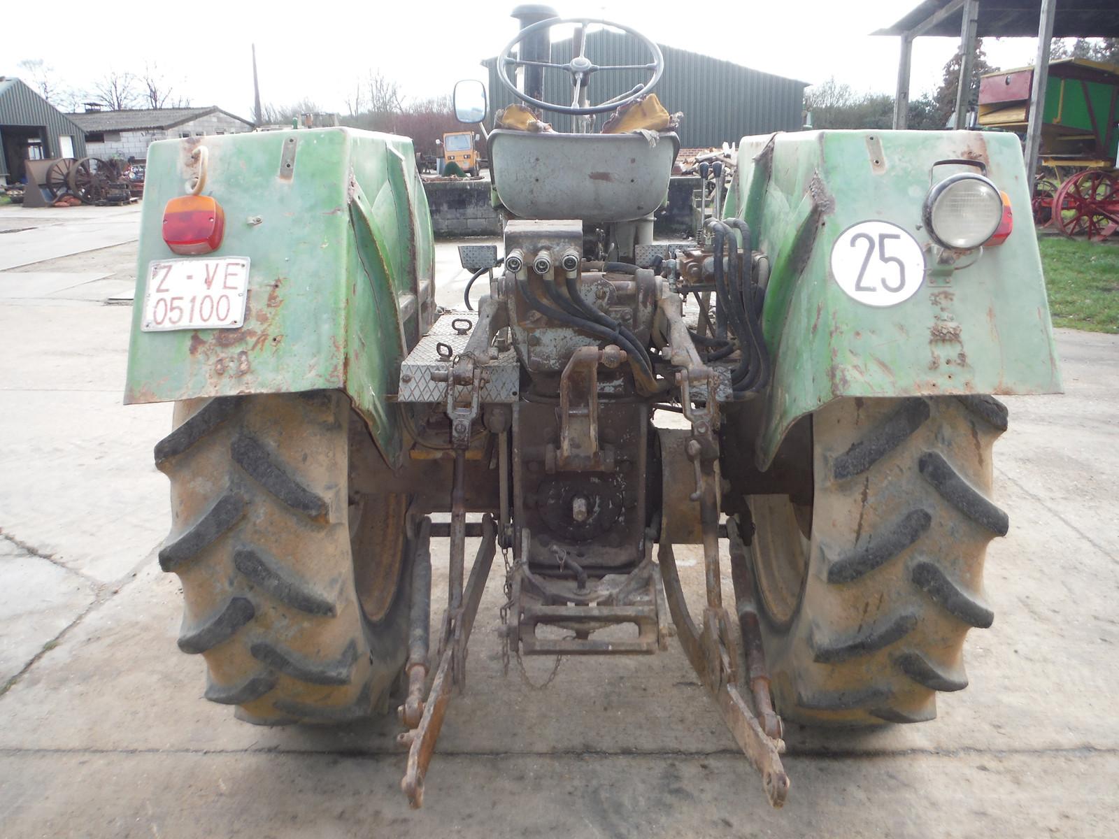 Steyr single cylinder tractor