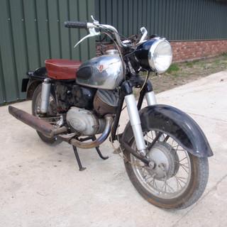 1957 Zündapp 250S