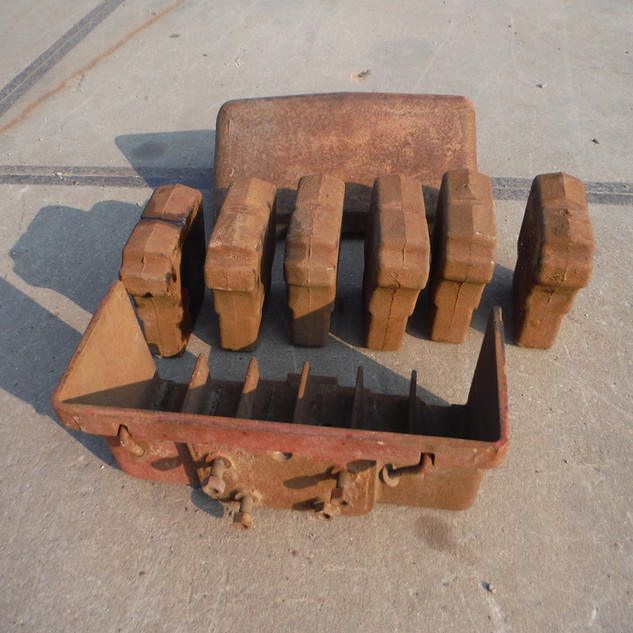 Ford 900 series Front weight Box