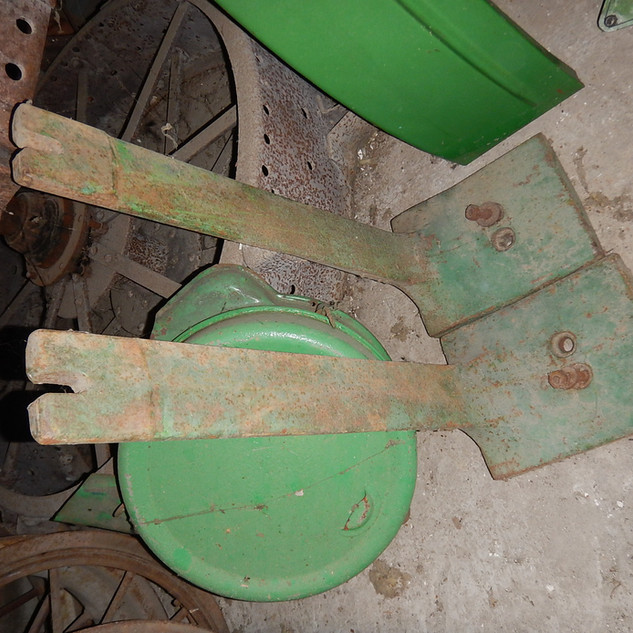John Deere 4020 front weight mounting brackets