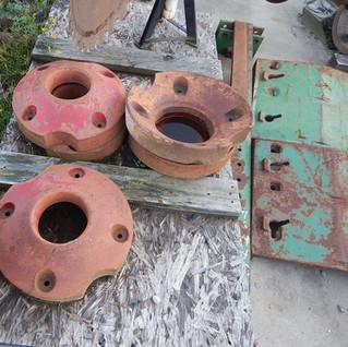 IHC Farmall wheel weights