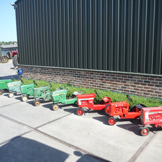 Fresh arrival in pedal tractors.