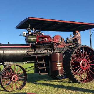 1919 Rumely Steam engine