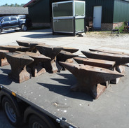 Nice selection of old anvils