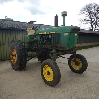 1964 JD 4020 Hi-Crop Diesel Powershift