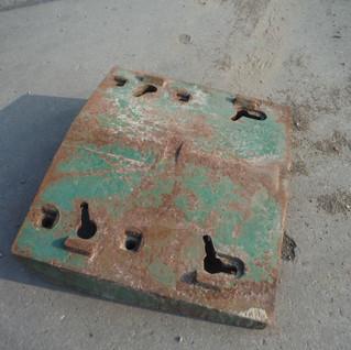 John Deere 4520 Double front weight