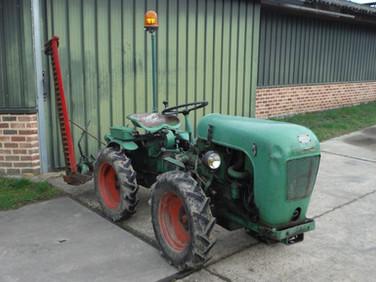1961 Holder A12 with original mower