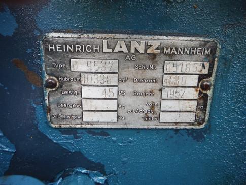 1952 Lanz D9532 Verkehrsbulldog