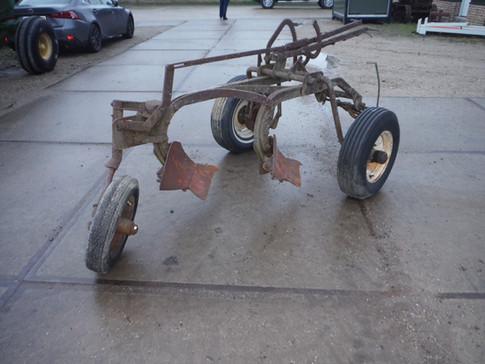 David Bradley 2 bottom plow