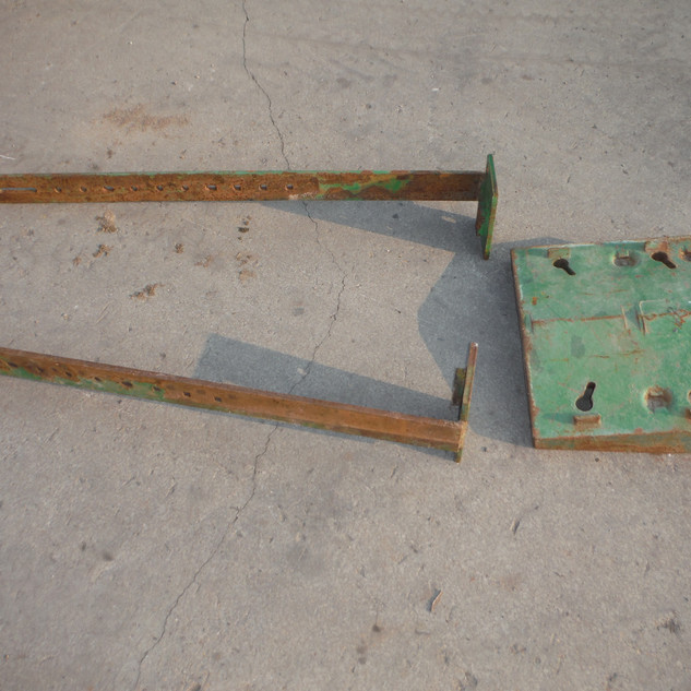 John Deere 4520 Double front weight