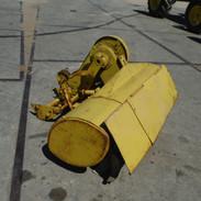 Tiller for garden tractor
