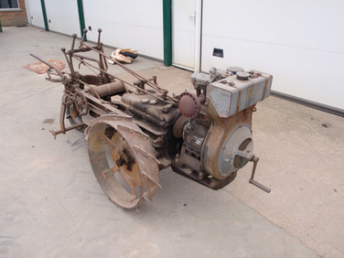 Simplex winch tractor