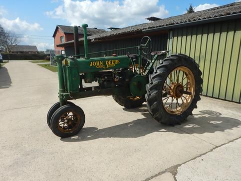 1937 B #22602 on round spoke rears