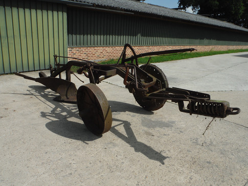 John Deere early brush plow