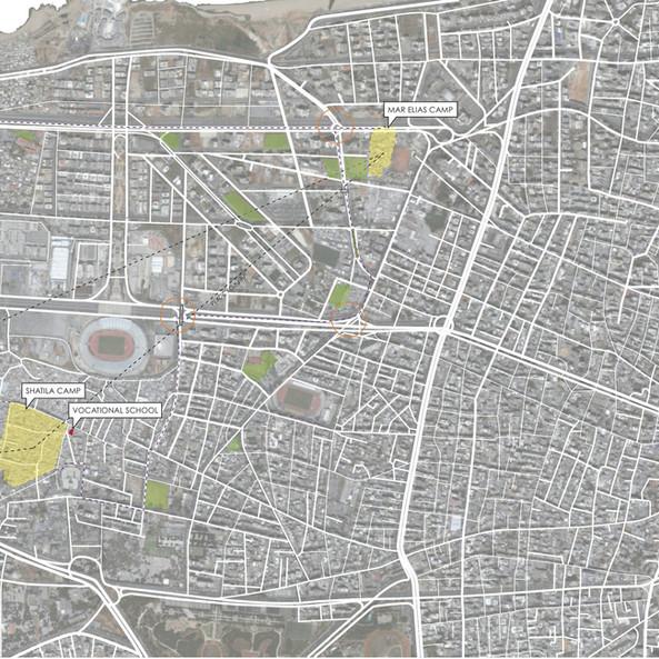 Beirut City Planning for Refugees