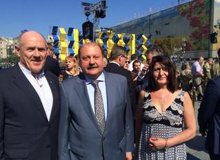 AUSTRALIA'S UKRAINIAN COMMUNITY WELCOMES APPOINTMENT OF MYKOLA KULINICH - AMBASSADOR OF UKRAINE TO