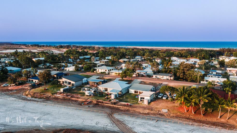 Burdekin SunsetAerial Beachscapes