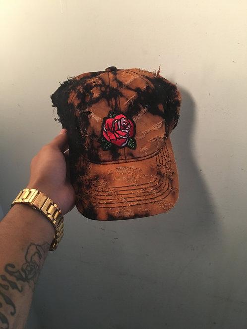 """La Rose dad hat """"bleached blvck"""""""