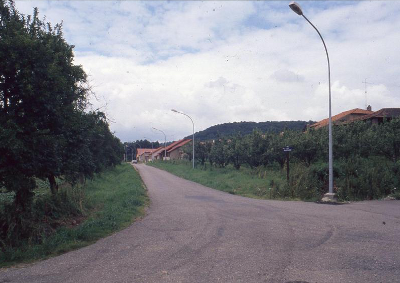 Année 1990 - Rue du Moulin