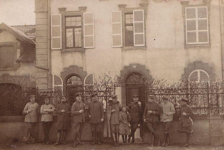 Année 1915 - Rue de l'église