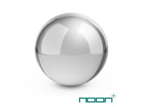 Sphère chrome
