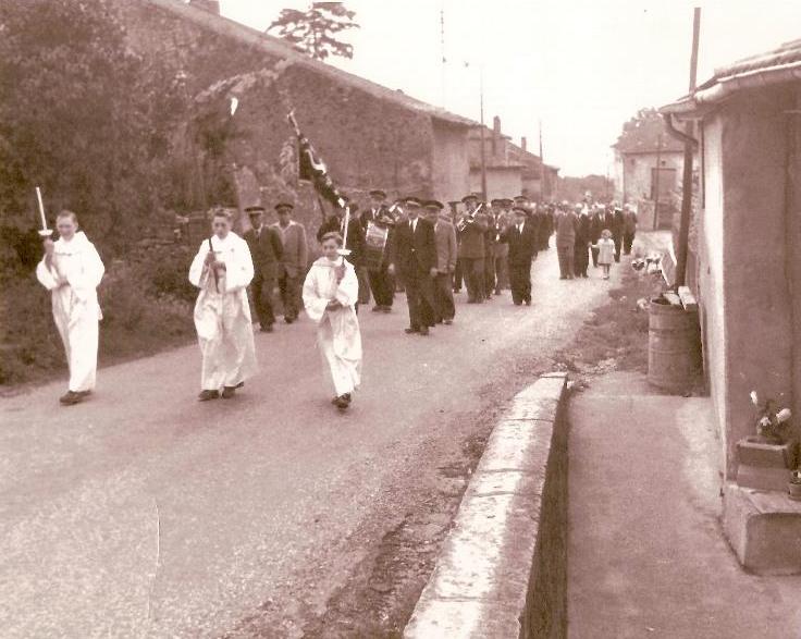 Vers 1950 - La Fête Dieu