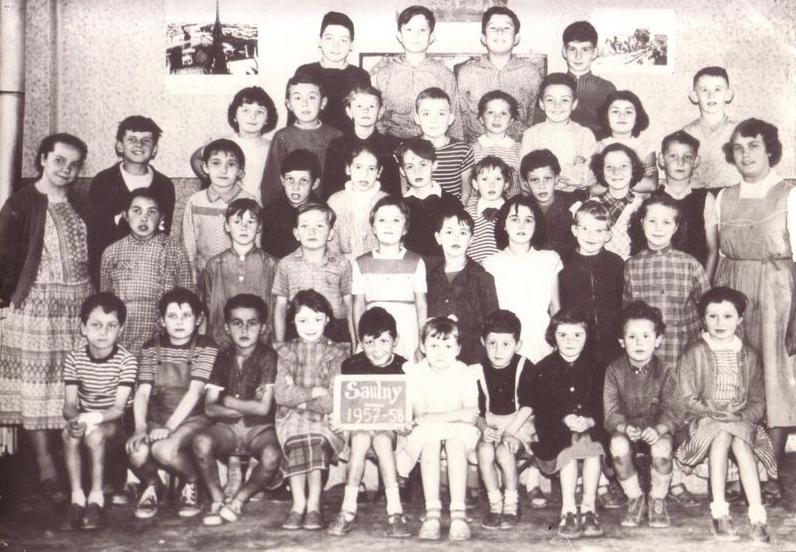 Année 1957 - La photo de classe