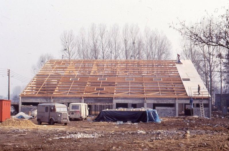 Année 1981 - Construction de la Salle Polyvalente