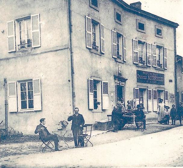 Début du 20ème siècle- Rue de Metz