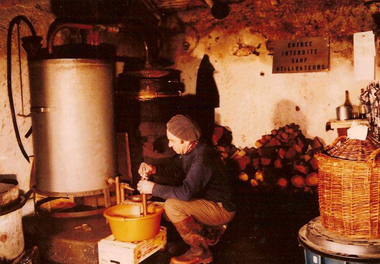 Année 1990 | Rue de la mairie | La distillerie