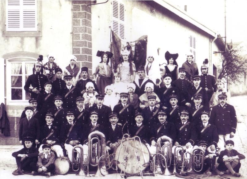 Vers 1920 - La Jeune Lorraine