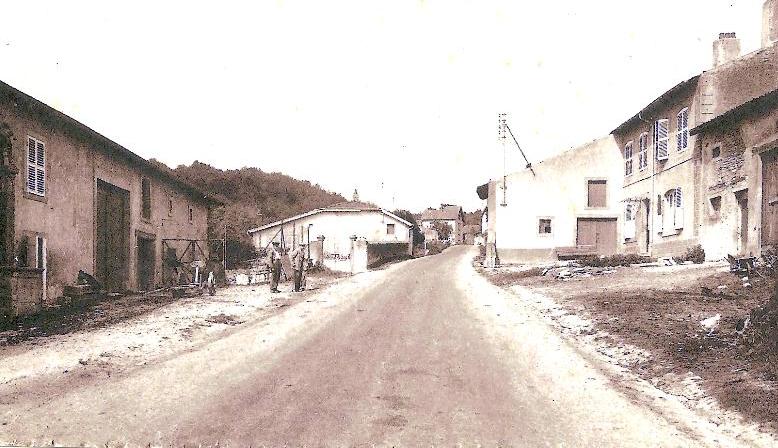 Vers 1950, Rue de Briey