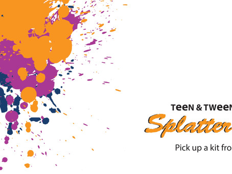 Tween/Teen Splatter Art Kits
