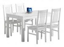 Emilia pöytä 120 + 4 tuolia