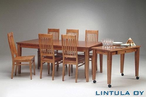 Björkman 180x90 + 6 tuolia