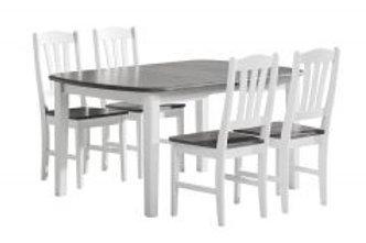 Viktoria pöytä 140 + 4 tuolia