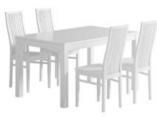 Julia pöytä 140 + 4 Julia tuolia