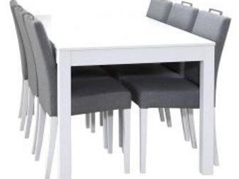 Julia pöytä 180 ja 6 Liinus tuolia