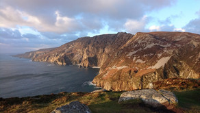 Slieve League and Glencolmcille Village