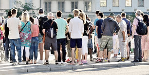 groupe de touristes
