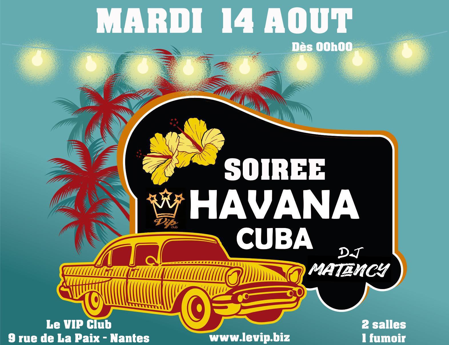 Soirée Havana Cuba