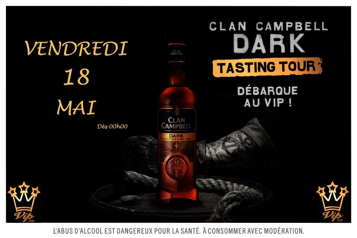 Soirée Clan Campbell Dark