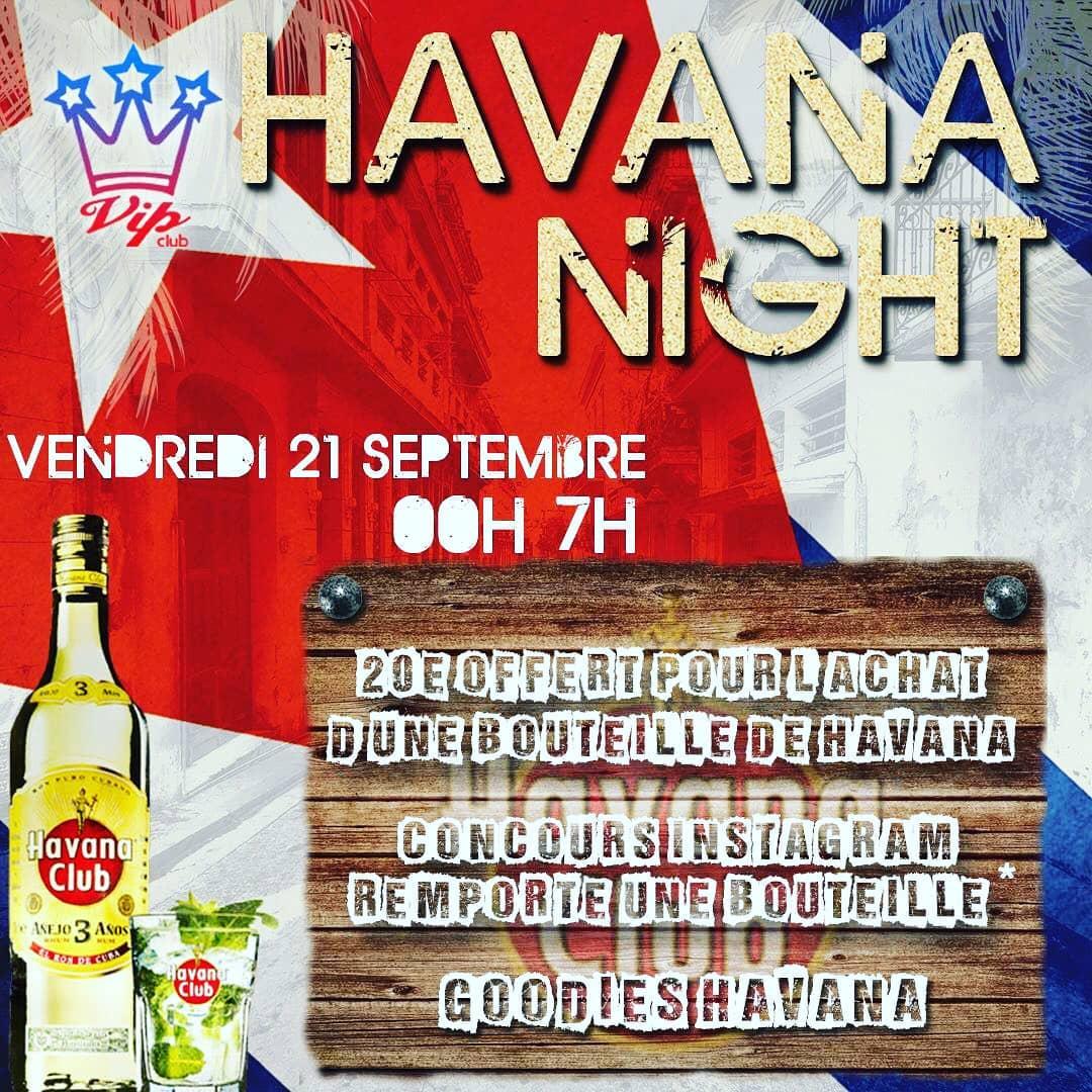 Soirée Havana Night