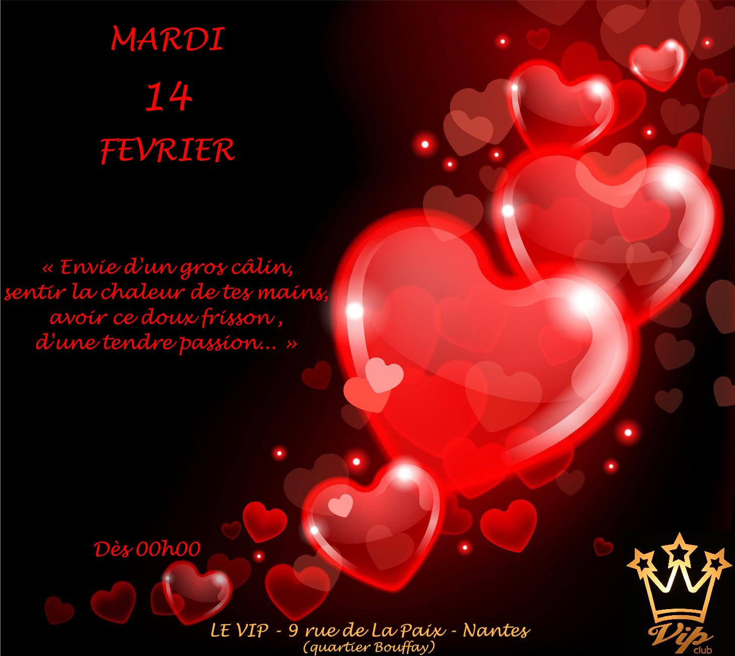 Saint Valentin au VIP
