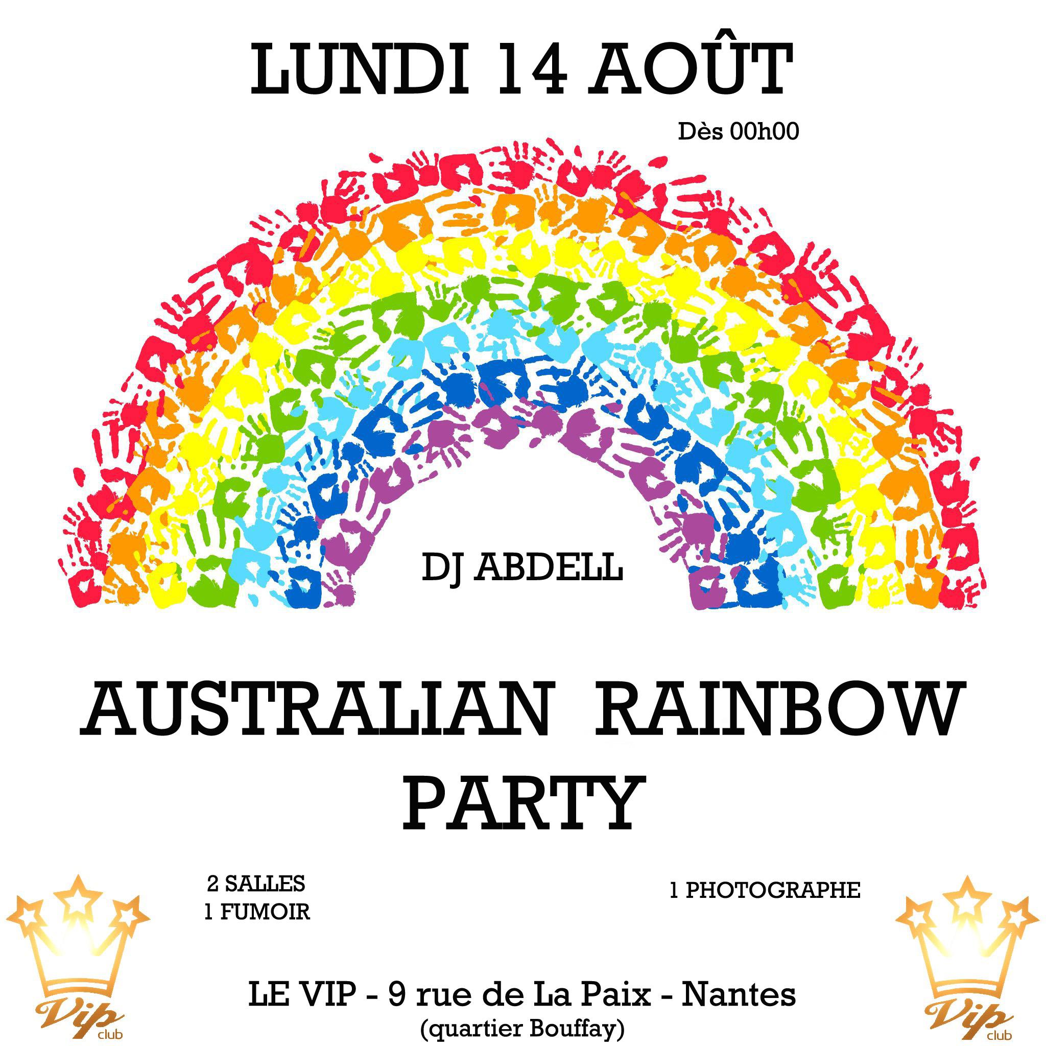 AUSTRALIAN RAINBOW PARTY